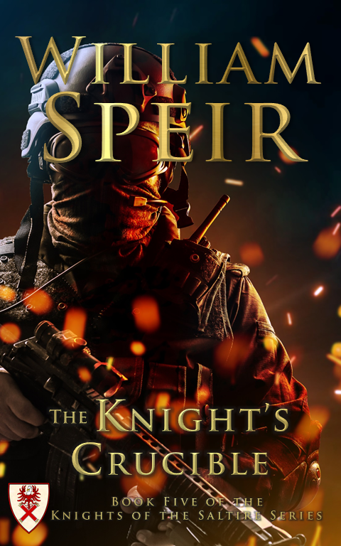 The Knight's Crucible Cover
