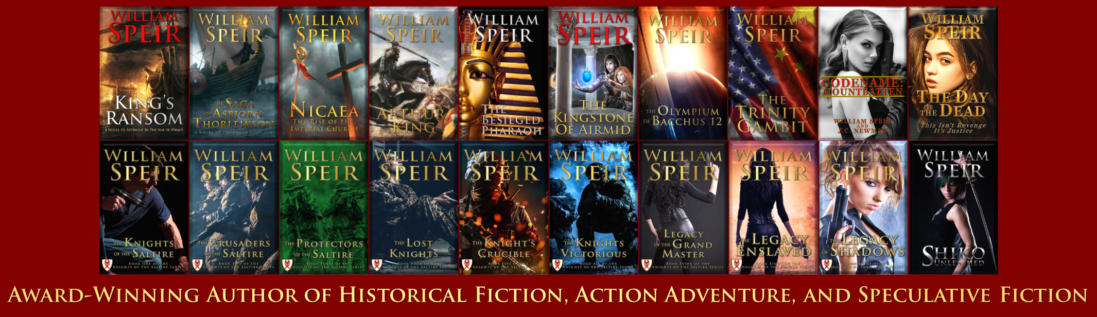 The Books of William Speir